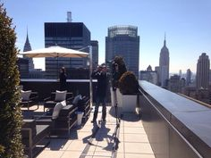 What a view from the top of The New York Palace Hotel #thetowerssuites #newyork #newyorkpalace #hotel #Suites #hotel #skyline