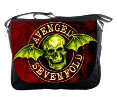 Messenger Bag  AVENGED SEVENFOLD Custom by mansyahqualityshop, $27.00