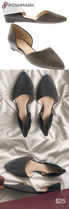 Franco Sarto Hull Black Gray Pointed Toe Wedges Franco Sarto Hull Black Graphite Gray Wedges size 8 ---- 🚭 All items are from a non-smoking home. 👆🏻Item is as described, feel free to ask questions. 📦 I am a fast shipper with excellent ratings. 👗I love bundles & bundle discounts. Feel free to make an offer! 😍 Like this item? Check out the rest of my closet! 💖 Thanks for looking! Franco Sarto Shoes Wedges