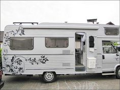 cool 50 Camper Paint Exterior Remodel and Makeover for Your RV Living https://www.architecturehd.com/2017/05/12/50-camper-paint-exterior-remodel-makeover-rv-living/