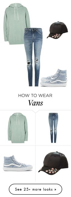 """""""Untitled #636"""" by melymel-luna on Polyvore featuring Charlotte Russe, River Island, Yves Saint Laurent and Vans"""