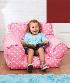 Cute polka dot bean chair