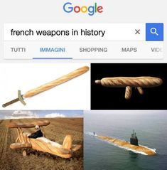 French Weapons In History - Funny Memes. The Funniest Memes worldwide for Birthdays, School, Cats, and Dank Memes - Meme Funny Meme Pictures, Funny Animal Memes, Stupid Funny Memes, Haha Funny, Funny Cute, Funniest Pictures, Memes Humor, Humour Ch'ti, Video Humour