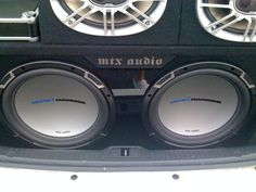 Andrew M installed one serious audio system in his 2007 Kia Spectra with gear purchased from Crutchfield. #Kia #Spectra #JVC #Alpine #PolkAudio #MTX