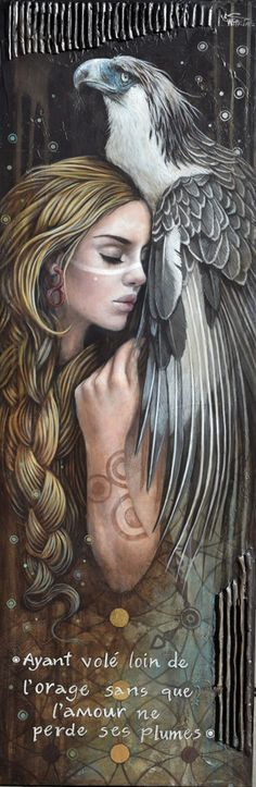 Interesting Fine Art, including paintings on canvas, sculpture and limited edition prints, by rising stars. L'art Du Portrait, Tarot, Canadian Painters, Spirited Art, Magic Realism, Arte Disney, Beautiful Paintings, Spirit Animal, Art Google