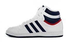 Adidas Top Ten High - White / Blue / Red