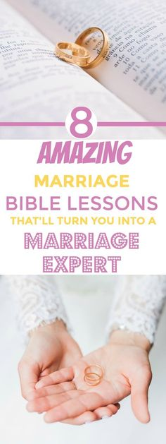 Just like it is with everything else, the Word of God is the biggest blessing for every single topic in human life. These 8 marriage scriptures will be the best marriage lessons you will ever get, and if learned correctly, they will turn you into a marriage genius.