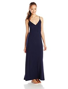 Lucy Love Junior's Wanderlust Maxi Dress with Open Circle Back