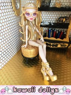 Donatella Versayce Custom Monster High Viperine by KawaiiDollys