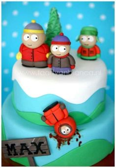 south park taart Butters from South Park cake. If someone could just make me this  south park taart