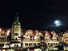 Beautiful Leipzig At Night