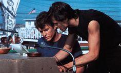 Tom Berenger and Michael Paré in Eddie and the Cruisers, 1983 Eddie And The Cruisers, Tom Berenger, Writers Help, Dark Side, Good Movies, The Darkest, Toms, Film, Knights