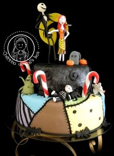 The Nightmare before christmas By tricia4 on CakeCentral.com