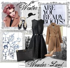"""Dressy Winter"" by becalicious on Polyvore"