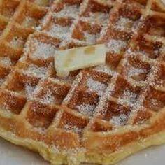 Eggnog Waffles @keyingredient