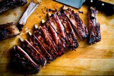 Lamb Ribs, Beef Ribs, Honey Recipes, Rib Recipes, Homesick Texan, Ribs On Grill, Smoked Ribs, Good Enough To Eat, Kitchens