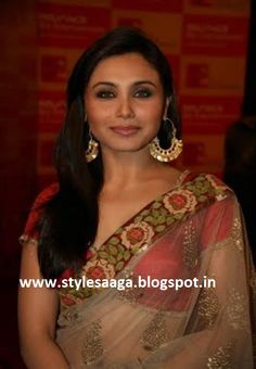 SABYASACHI DESIGNS FOR RANI MUKHERJEE