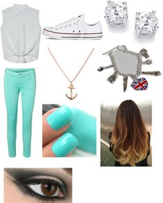 """Spring time"" by emily-bell-1 ❤ liked on Polyvore"