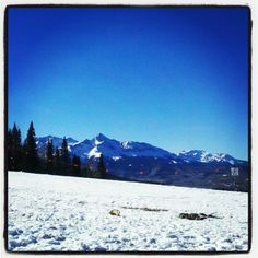 Its been like this for 10 days #telluride #colorado #need #snow
