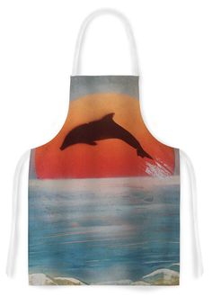 Features:  -Dolphin Sunset collection.  -Stain resistant.  -Designer name: Infinite Spray Art.  -Made in the USA.  Country of Manufacture: -United States.  Product Type: -Standard.  Design: -Patterned