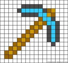 perler bead patterns minecraft - Google Search