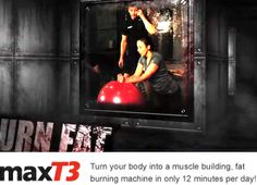MaxT3  Only 6 minutes of exercise per day to get your body to burn off fat all day long!  It's fun and goes by quickly!!