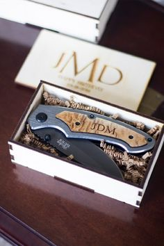 Pocket Knife - 10 Great Groomsmen Gift Ideas - Southernliving. BUY IT: From $24