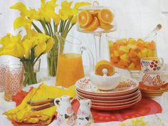 Brunch but with daffodils