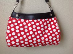 Suite skirt purse cover imperfect circles on by ShellyJayneCovers, $18.75