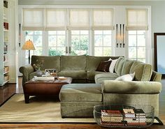 pottery barn sage sofa ideas | ... sage green velvet to cover the foam cushion and the front of the bench