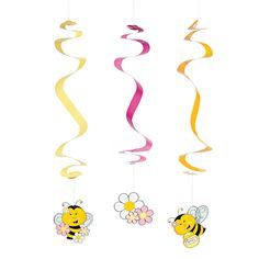 Bee Party Invitations Printed With Your Information