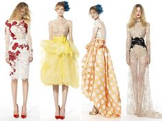 YolanCris Monaco Seaside Spring/Summer 2014 Collection  #yolancris #dresses #gowns