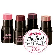 Just Pinched Instant Blush Tint...the mark bronzer sticks are even better!