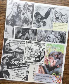Tarzan King of the Jungle Classic Vintage by diamondcloudstudio