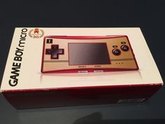 #videogames #Gamers #nintendo New Nintendo Game Boy Micro Special 20th Anniversary Edition Red 349.99      Item specifics     Condition:        New: A brand-new, unused, unopened, undamaged item...