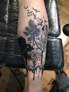 Trees Tattoo Idea Forest