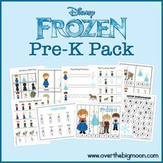 Frozen Pre-K pack. There's a link to a Lego Movie pre-k pack in the comments also.