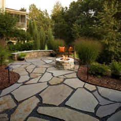 355 best Stone patio ideas images on Pinterest in 2018 | Back garden ...