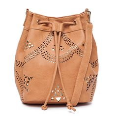 I love the Street Level Studded Bucket Bag from LittleBlackBag