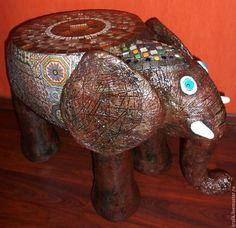 """Стол """"Индийский слоник"""" в интернет магазине на Ярмарке Мастеров"""