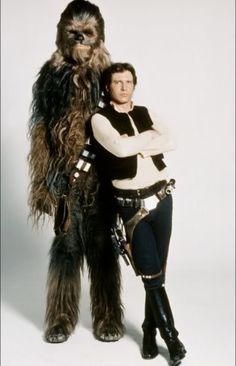 Sassy Han and first mate Chewbacca