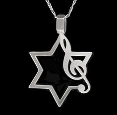 Music Jewish Star of David Jewelry Perfect for any by StudioKass