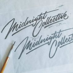 Fantastic type sketch by @jeremyfriend | #typegang if you would like to be featured | typegang.com | typegang.com #typegang #typography