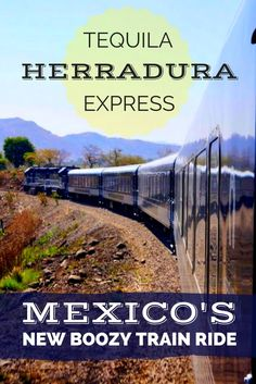 One of Mexico's newest attractions: it's an all-day tequila train ride that rolls out to one of Guadalajara's most famed haciendas- Herradura! Travel in North America.
