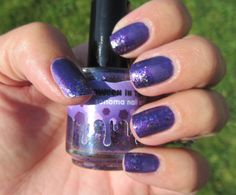 My Nail Polish Obsession: Savita + Halloween in the Vines
