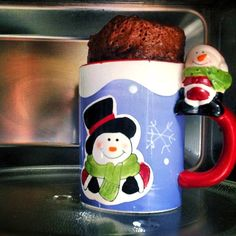 Brownies en tasse ou mug cake