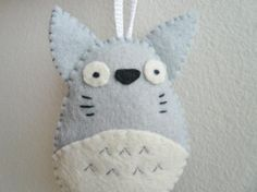 Totoro Christmas Ornament <3 Totoro!