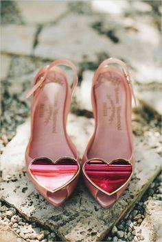 Chaussures de mariée Vintage ♥ chaussures de mariage chic et confortable. vivienne westwood