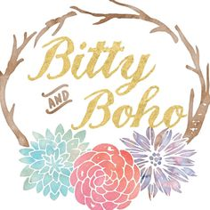 Browse unique items from BittyandBoho on Etsy, a global marketplace of handmade, vintage and creative goods.