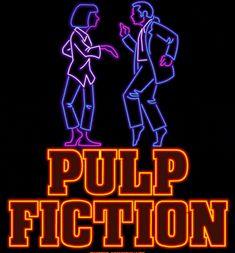 pulp fiction neon animated GIF
